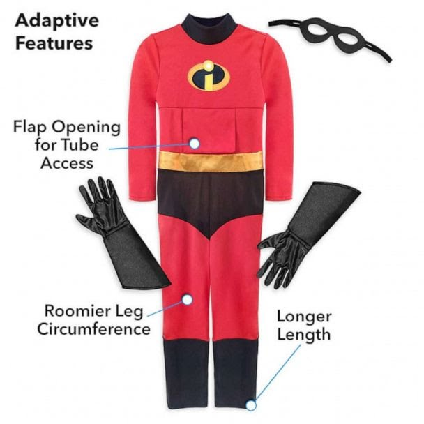 PHOTO: Incredibles 2 Adaptive Costume for Kids